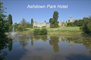 Ashdown Park Hotel is another wonderful venue where Bob has played.
