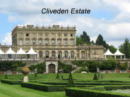 Cliveden Estate - the beautiful venue where Bob has played.