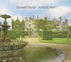 The magnificent Eastwell Manor - Bob has played here too.