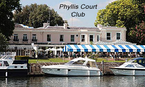 Bob has also played at the Phyllis Court Club.
